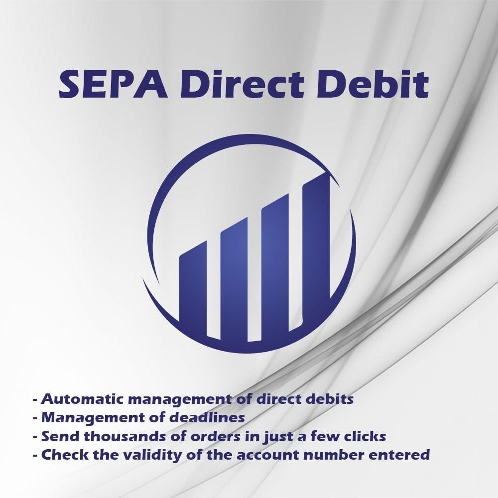module - Pagamento por Transferência Bancária - SEPA direct debit - 1