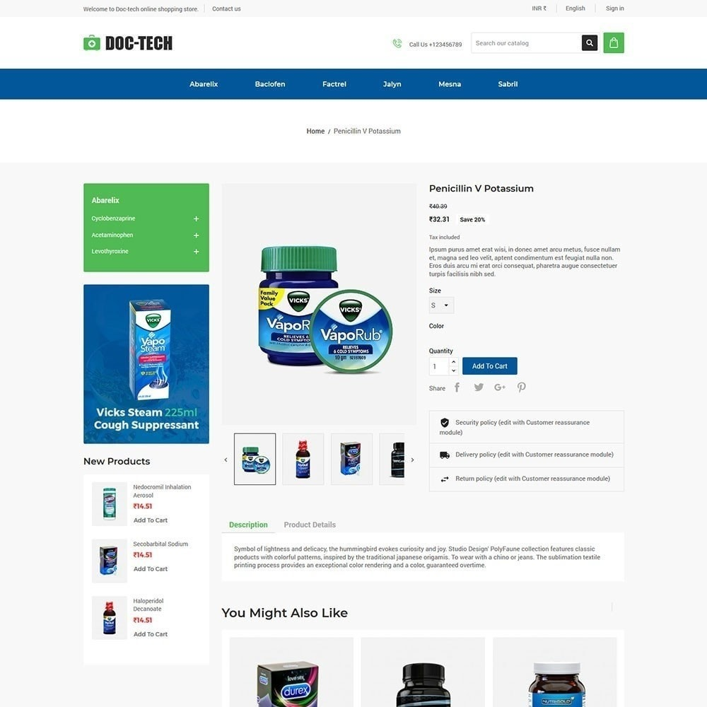 theme - Health & Beauty - Doctech - Medical Store - 4