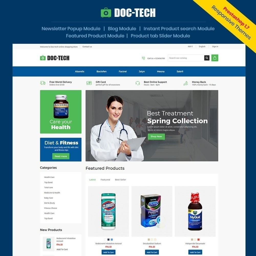 theme - Gesundheit & Schönheit - Doctech - Sanitätshaus - 2