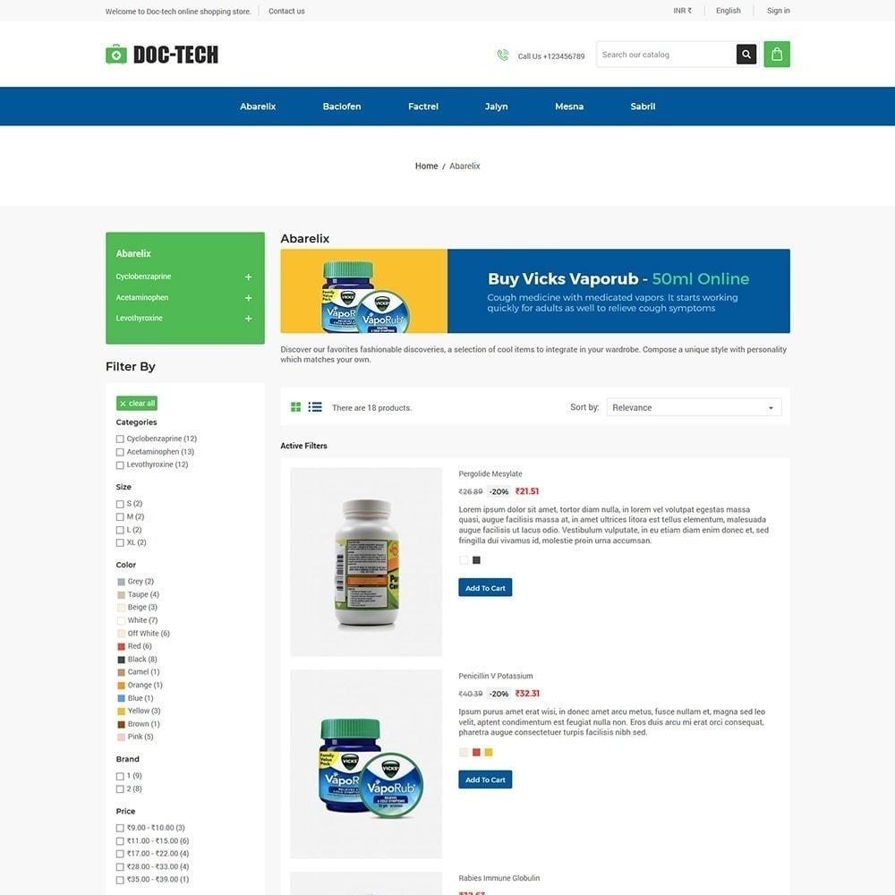 theme - Gezondheid & Schoonheid - Doctech - Medische winkel - 3