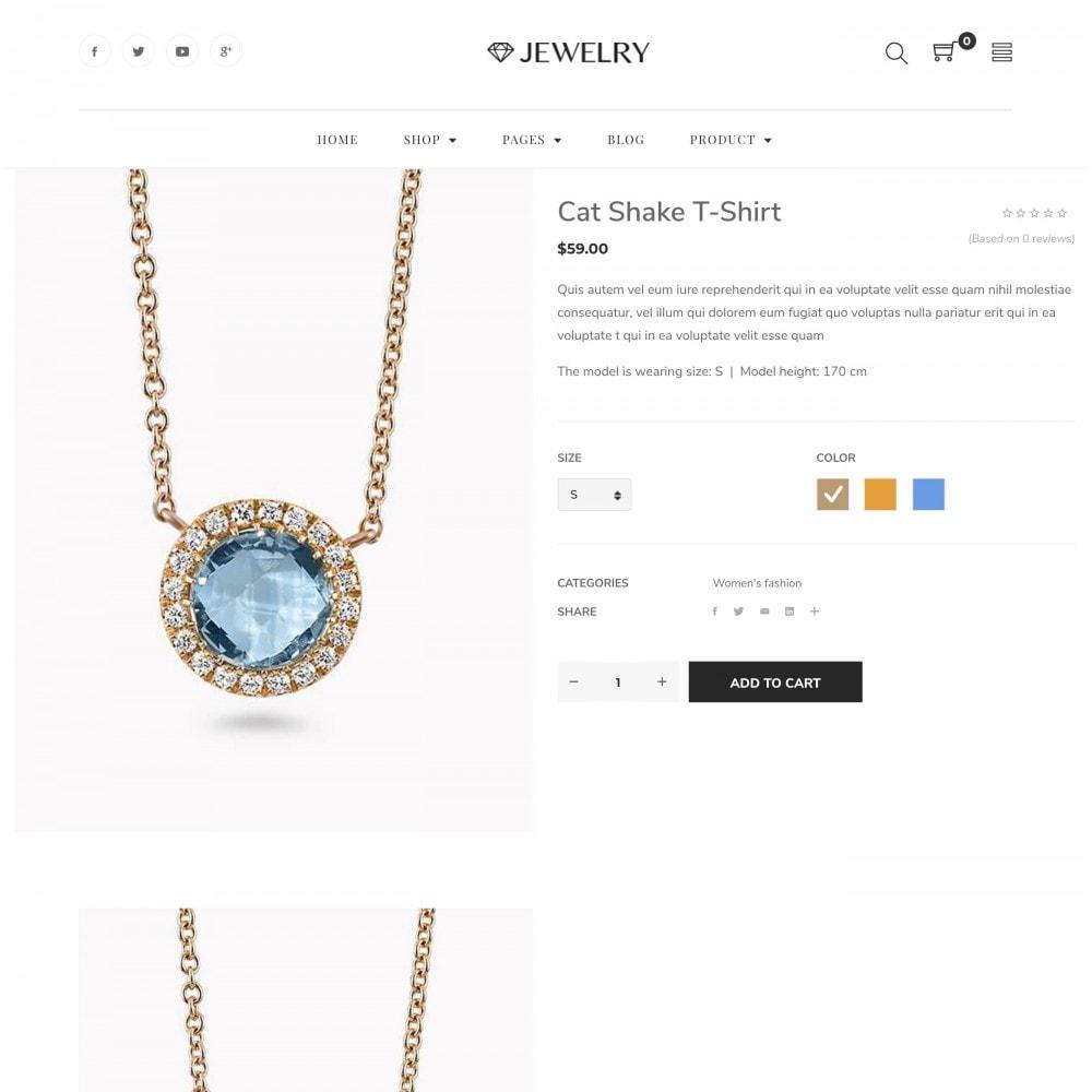 theme - Bellezza & Gioielli - Babi - Jewelry Store eCommerce Bootstrap 4 Template - 2