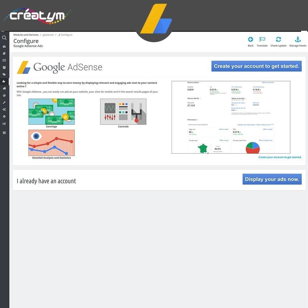module - Betaalde vermelding & Lidmaatschap - Google Adsense Ads - 2