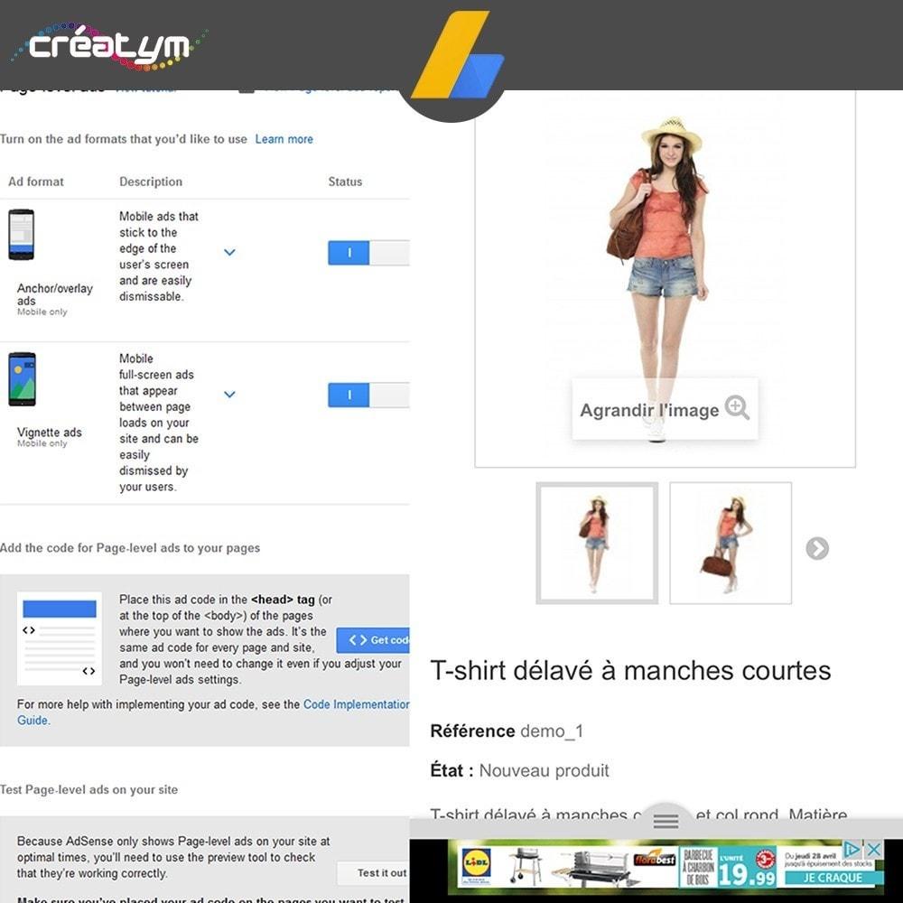 module - Betaalde vermelding & Lidmaatschap - Google Adsense Ads - 7