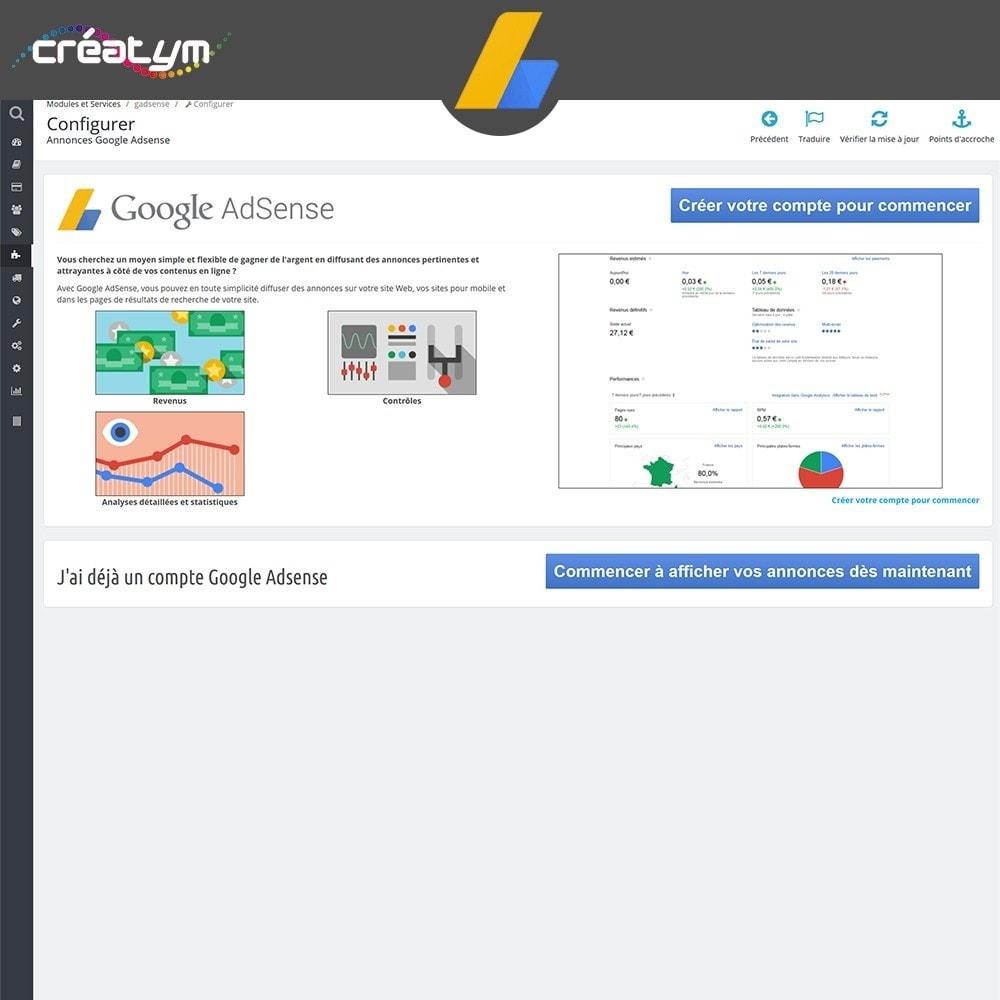 module - Référencement payant (SEA SEM) & Affiliation - Google Adsense - 2