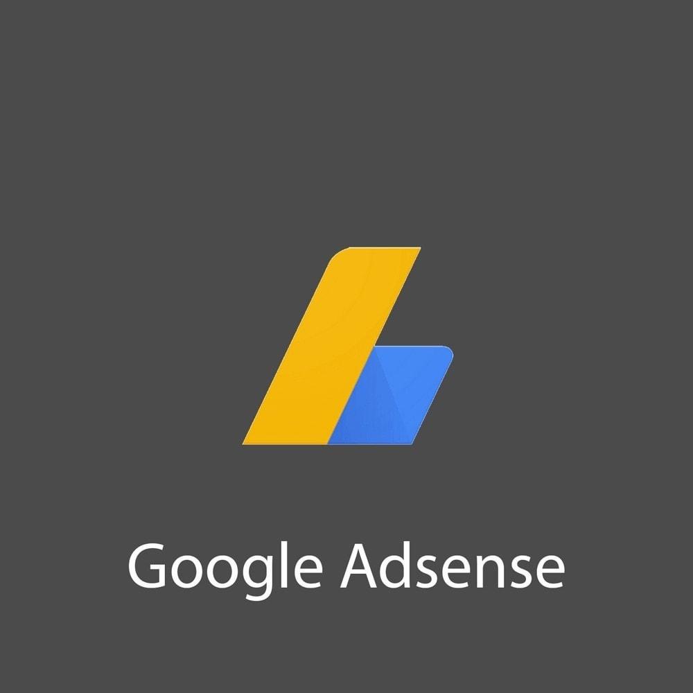 module - SEA SEM (Bezahlte Werbung) & Affiliate Plattformen - Google Adsense - 1