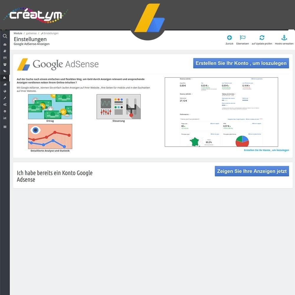 module - SEA SEM (Bezahlte Werbung) & Affiliate Plattformen - Google Adsense - 2