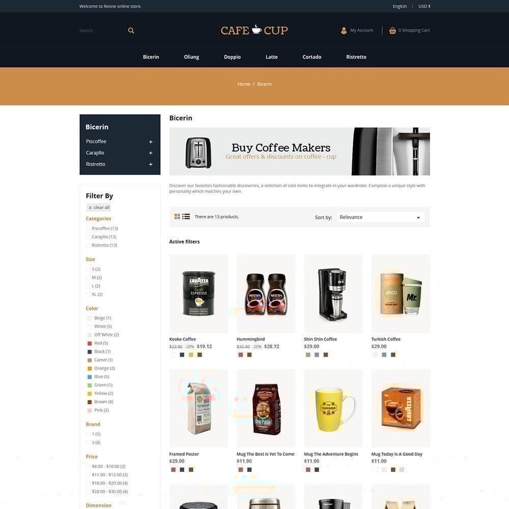 theme - Lebensmittel & Restaurants - Kaffeetasse - Coffee Store - 3