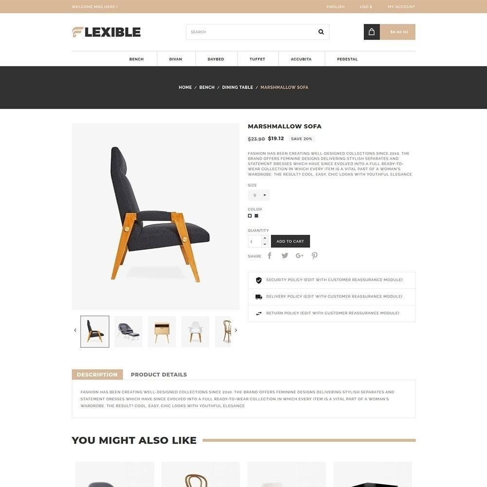 theme - Moda & Calçados - Loja de Móveis Flexível - 5