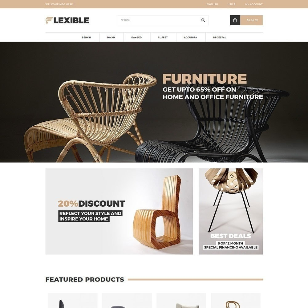 theme - Мода и обувь - Гибкий магазин мебели - 4