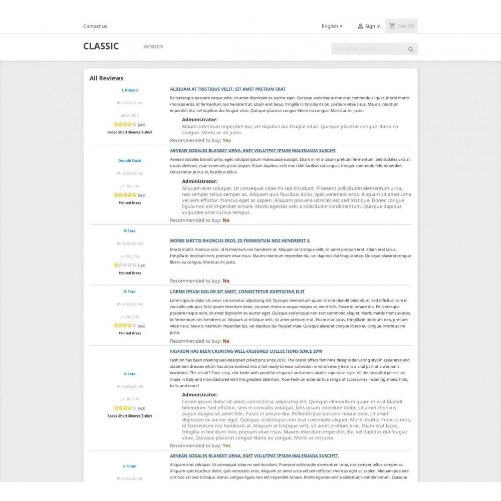 module - SEO - Product reviews + Google Snippets, Breadcrumb, Rich Pin - 10