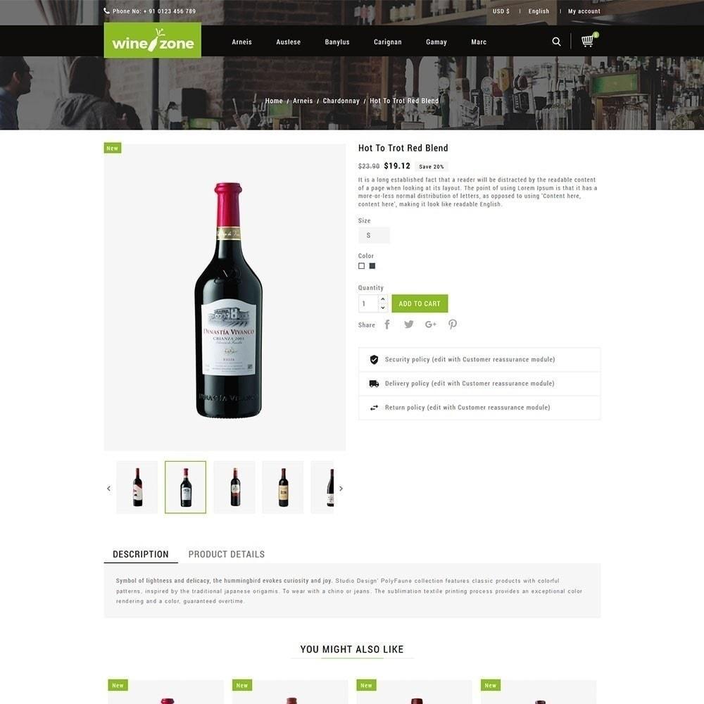 theme - Bebidas y Tabaco - Winezone - Tienda de vinos - 3