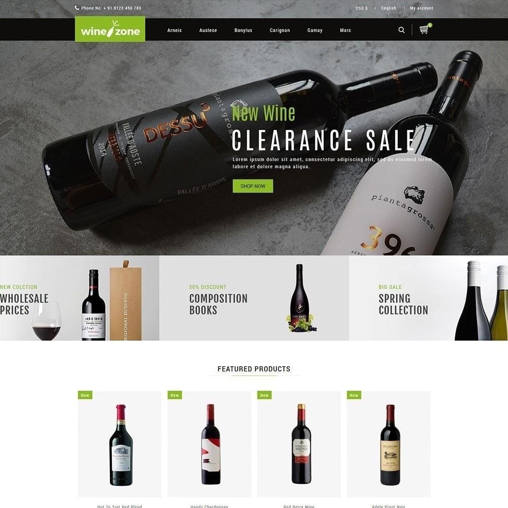 theme - Napoje & Wyroby tytoniowe - Winezone - Wine Store - 2