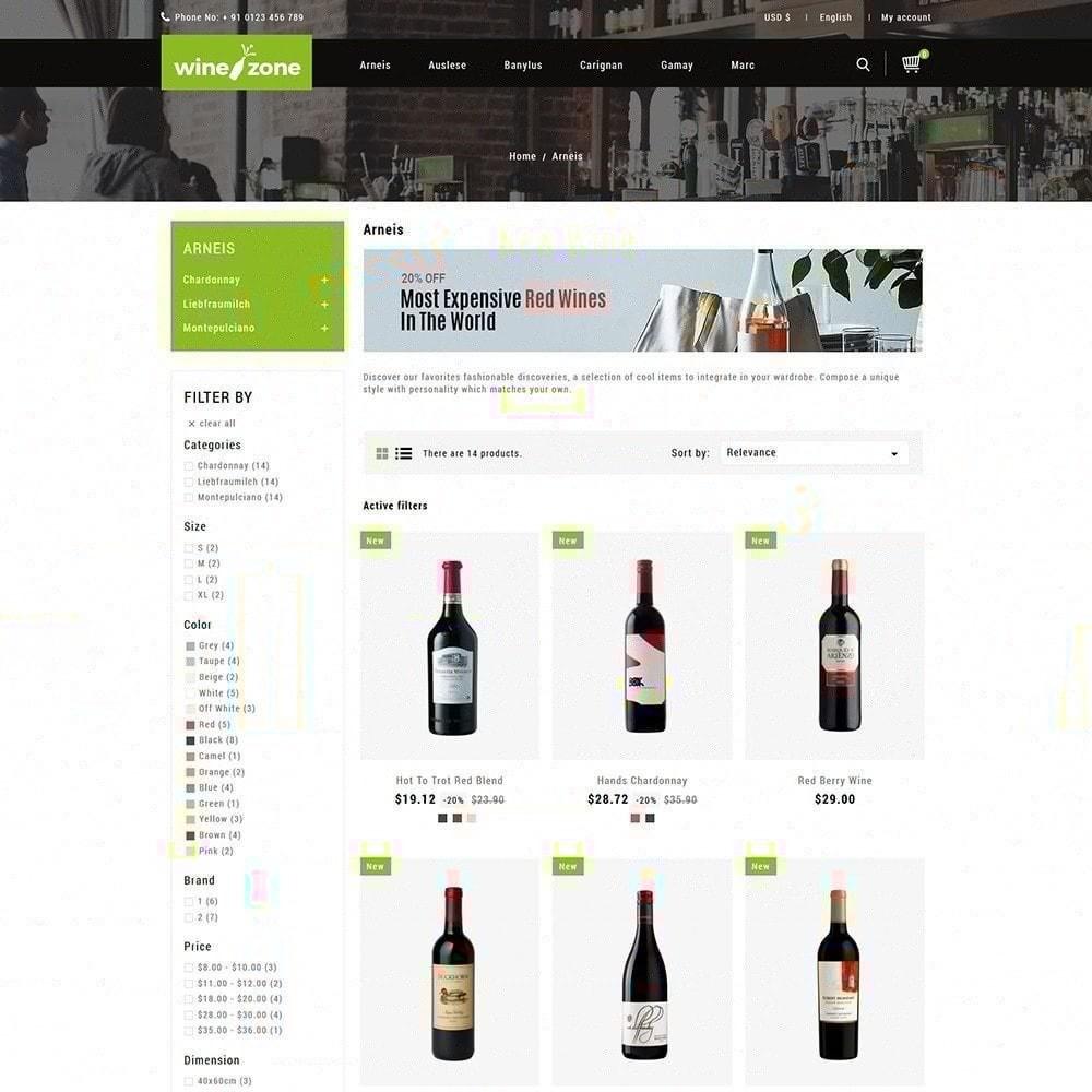 theme - Bebidas & Tabaco - Winezone - Loja De Vinhos - 3