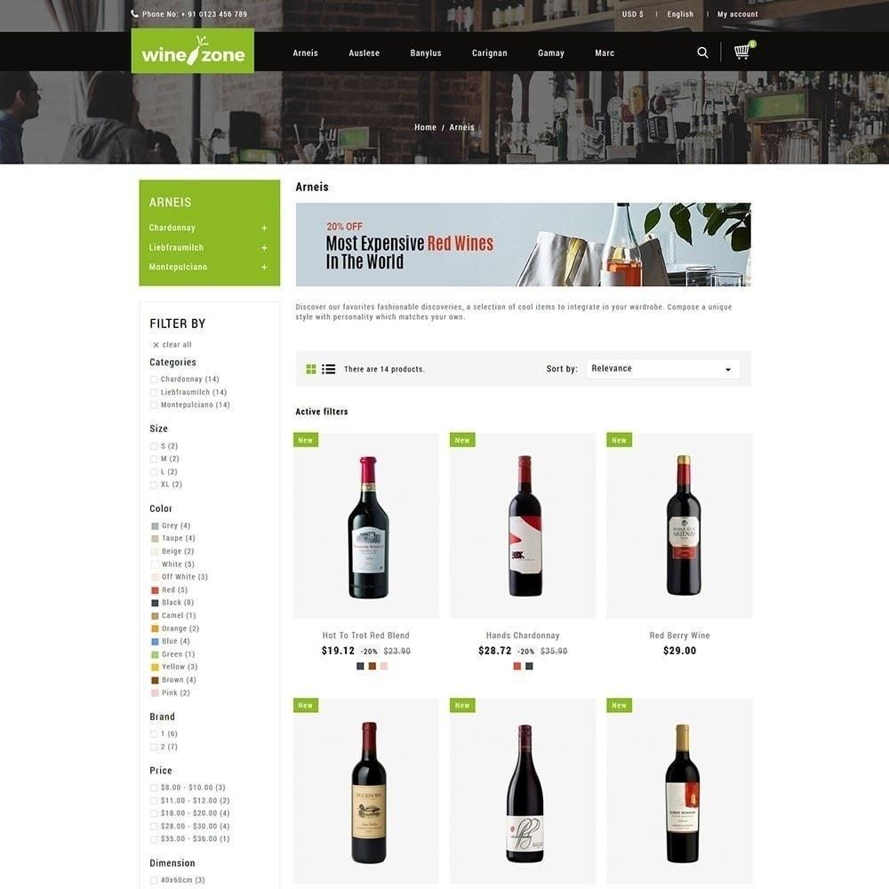 theme - Напитки и с сигареты - Winezone - магазин вина - 3