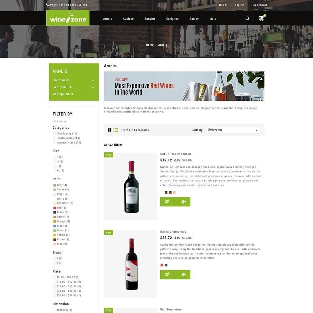theme - Напитки и с сигареты - Winezone - магазин вина - 4