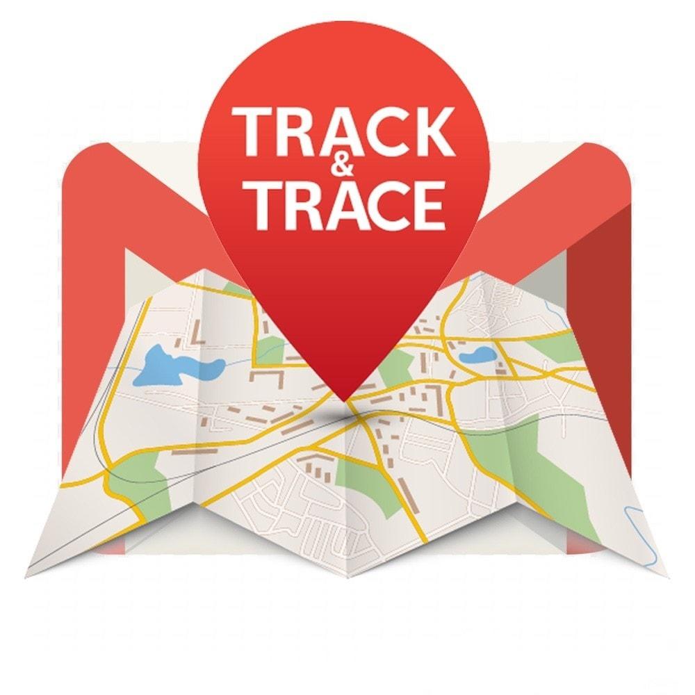 module - Bezorging volgen - TrackTraceMail - 1