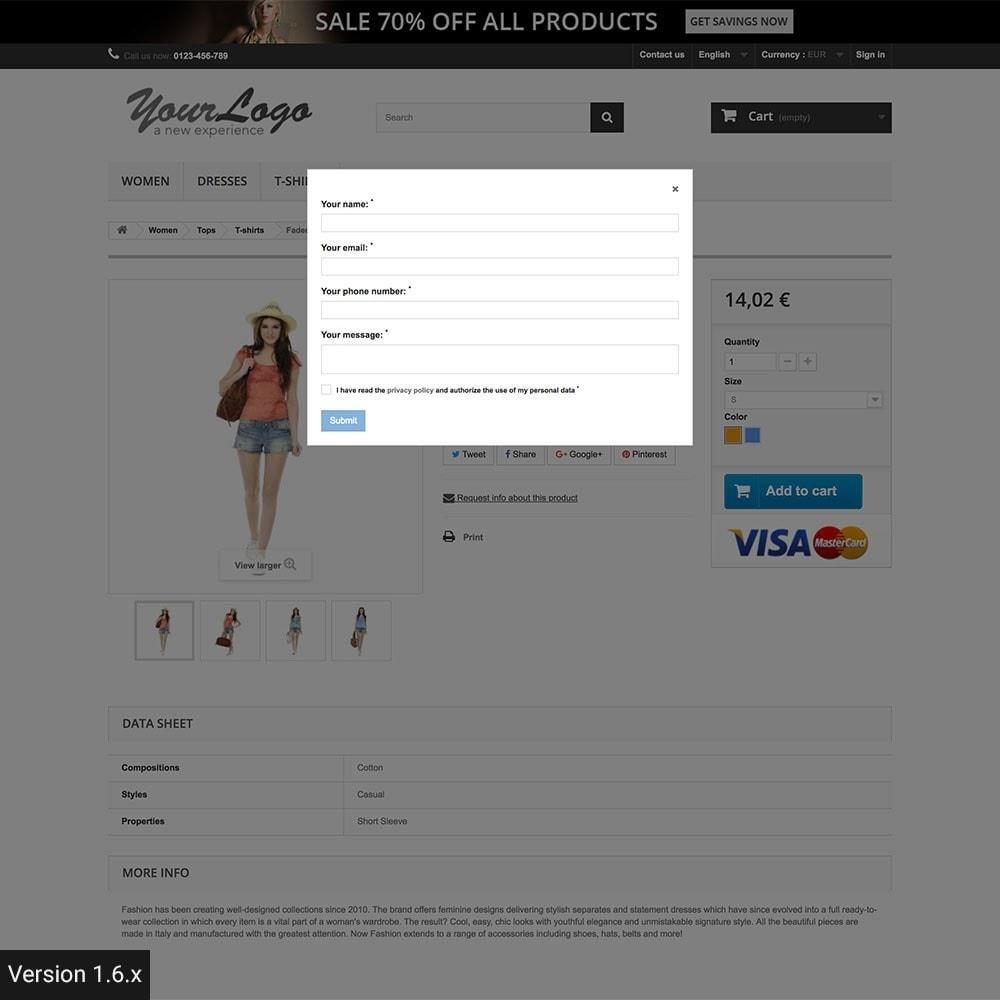module - Zusatzinformationen & Produkt-Tabs - Product Info Requests - 8