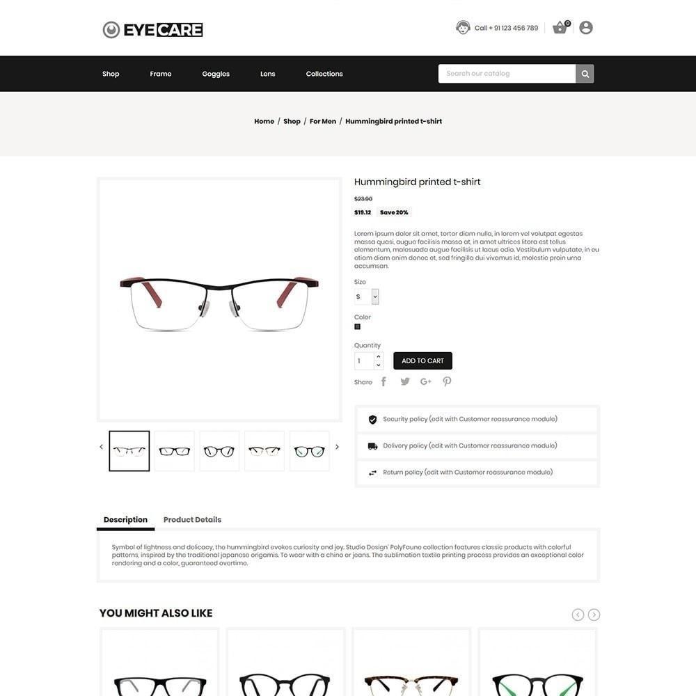 theme - Mode & Schuhe - Eyecare - Modegeschäft - 2