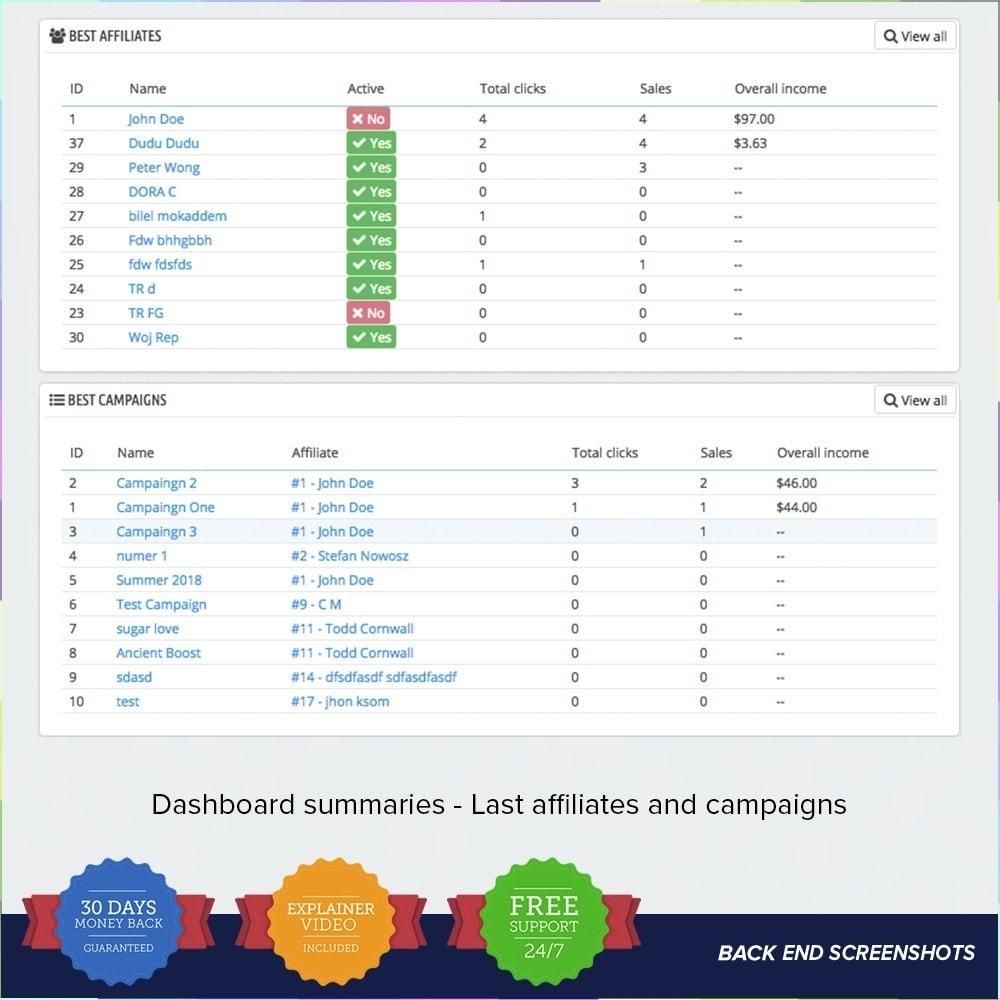 module - SEA SEM (Bezahlte Werbung) & Affiliate Plattformen - Full Affiliates - 15