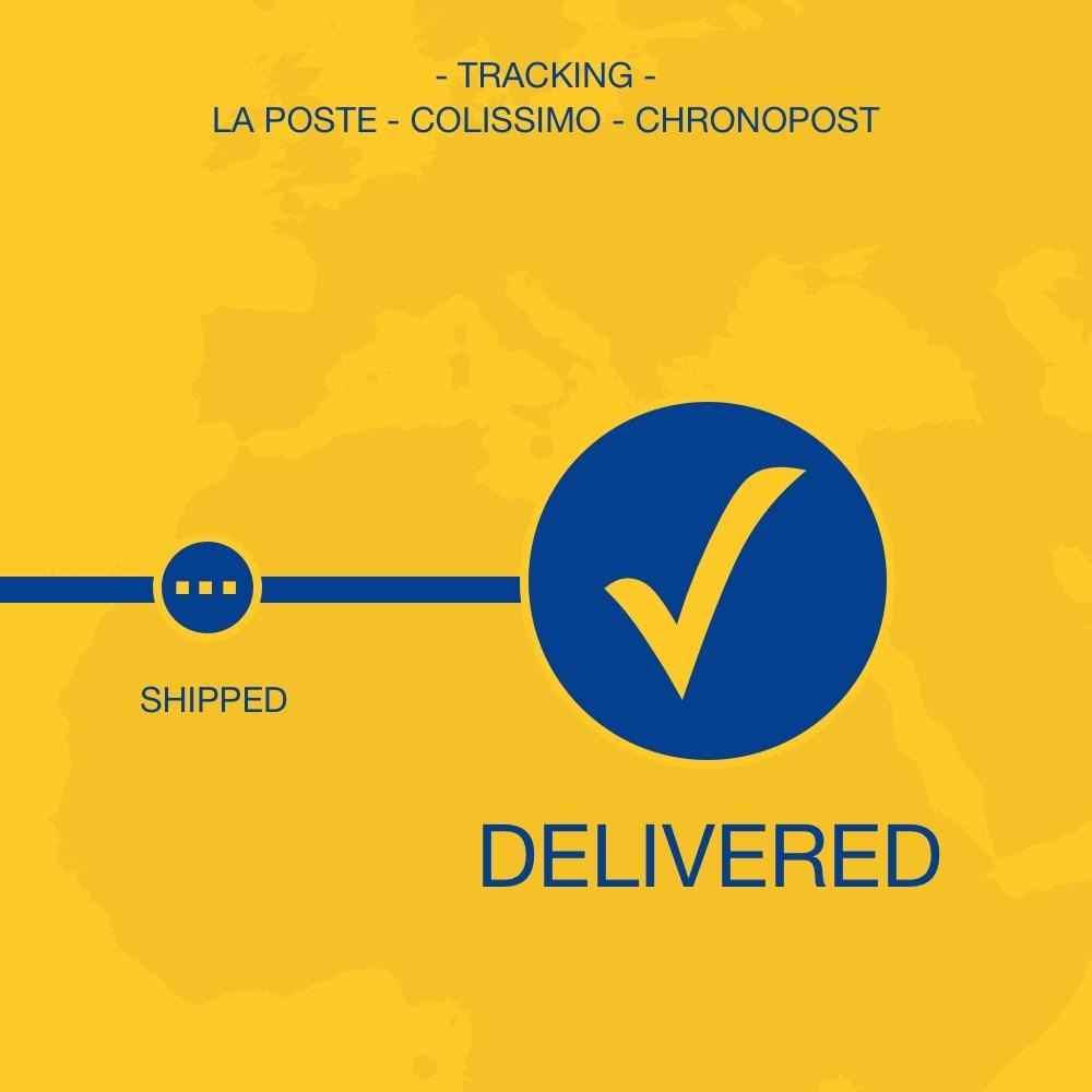 module - Отслеживание заказа - La Poste, Colissimo & Chronopost tracking - 1