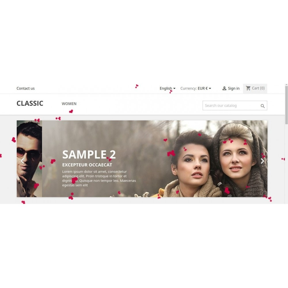 module - Page Customization - Knowband - Website Decoration Effects - 3