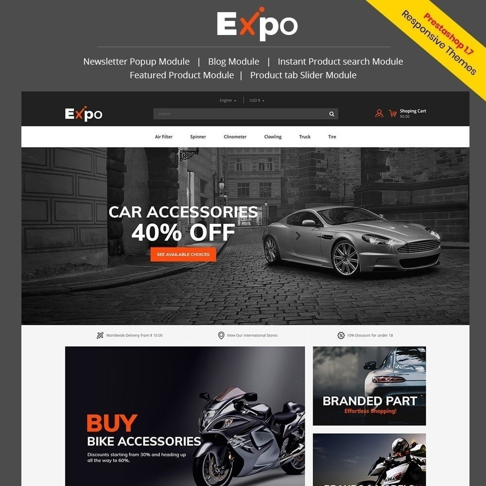 theme - Autos & Motorräder - Werkzeug - Auto Store - 2