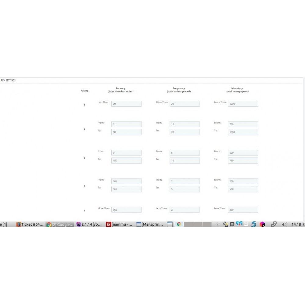 module - Remarketing & Paniers Abandonnés - Intégration  Mautic - 4