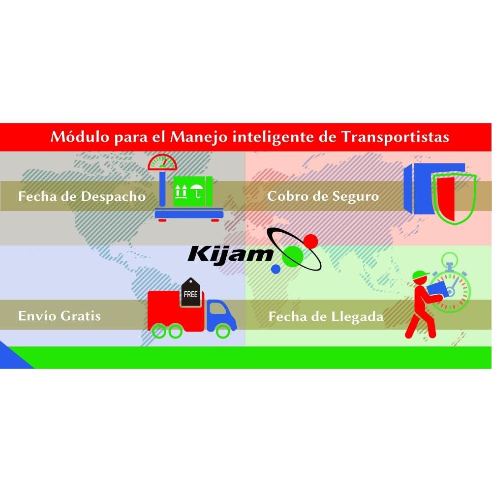 module - Transportistas - Manejo inteligente de Transportistas - 1