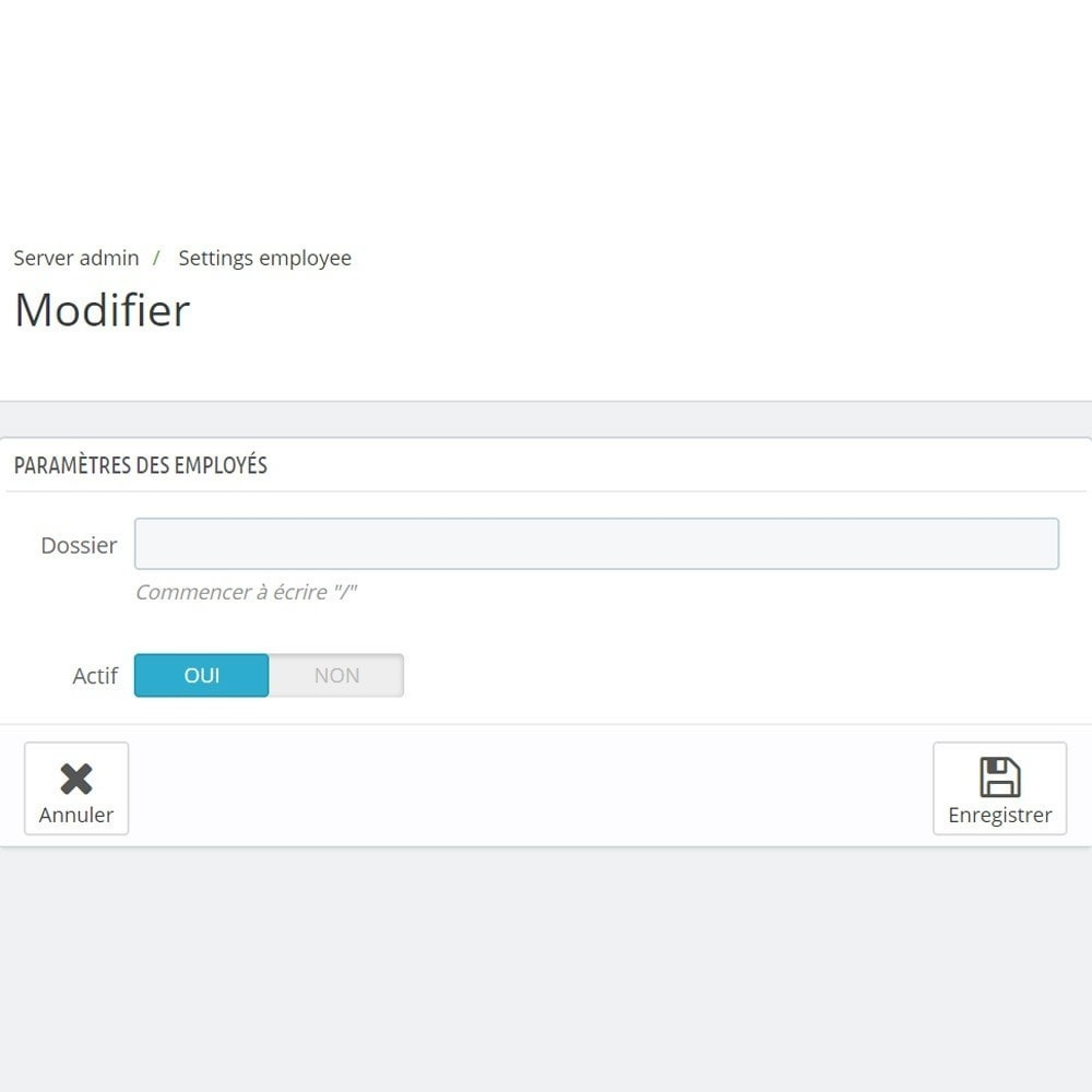 module - Outils d'administration - Backoffice FTP et Shell - 6