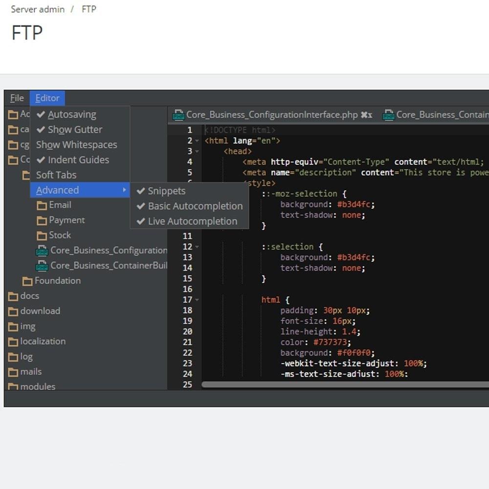 module - Herramientas Administrativas - Backoffice FTP y Shell - 2