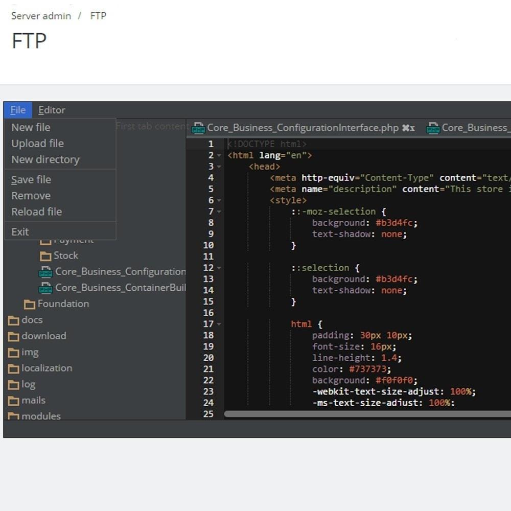 module - Herramientas Administrativas - Backoffice FTP y Shell - 3