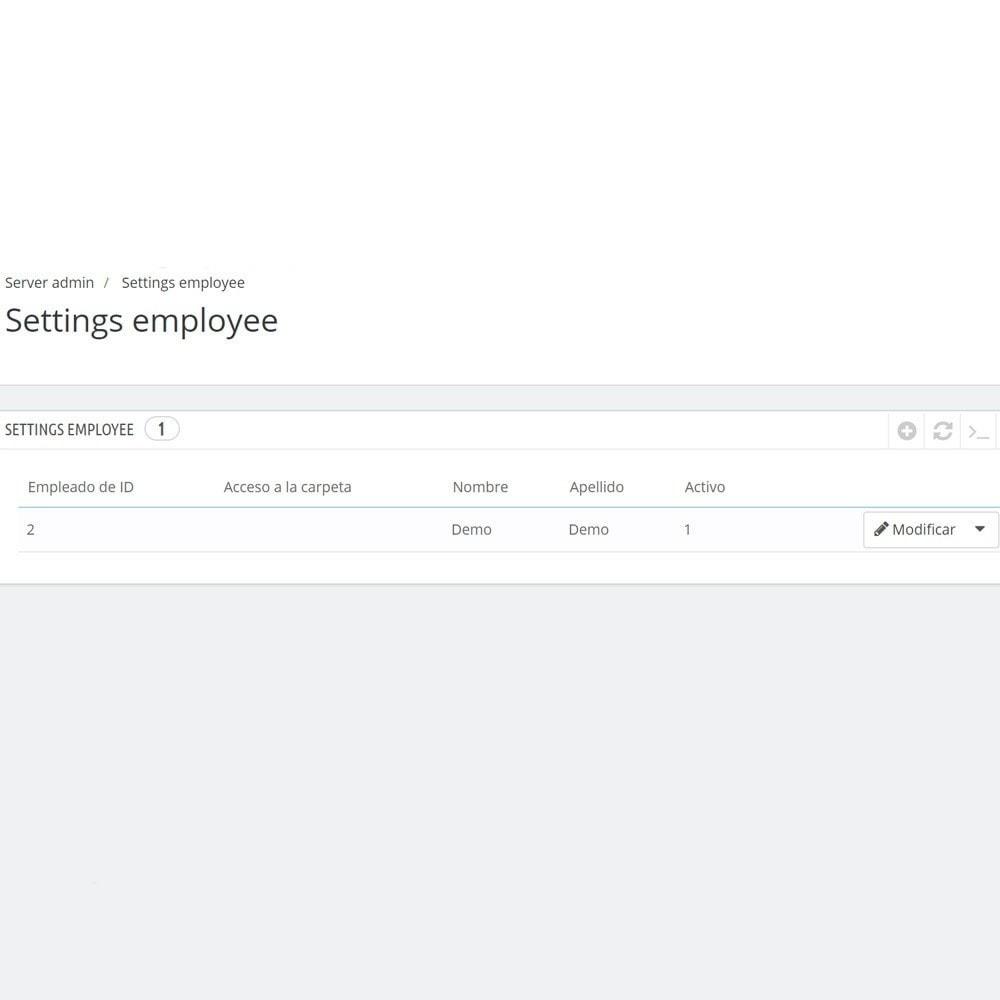 module - Herramientas Administrativas - Backoffice FTP y Shell - 5