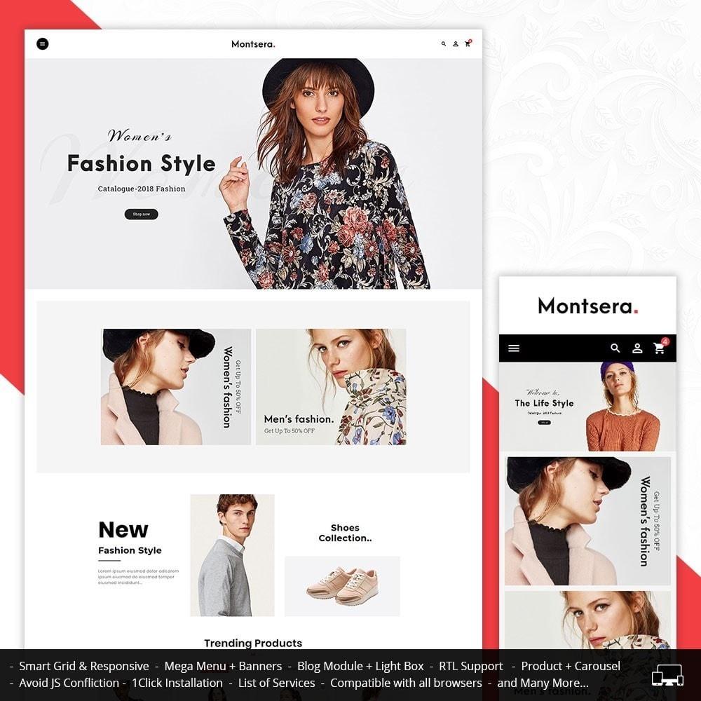 theme - Mode & Chaussures - Monstera Fashion Catalog - 1