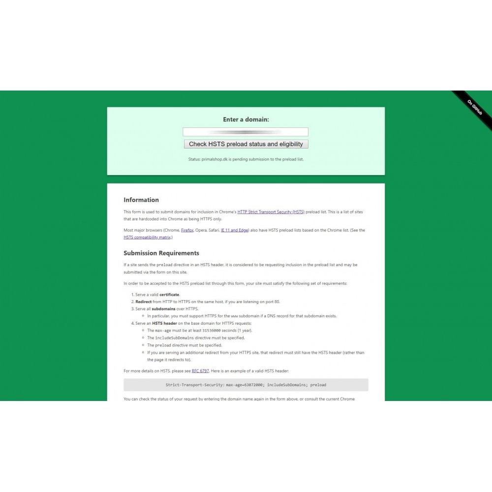 module - Segurança & Acesso - Easy HSTS - 3