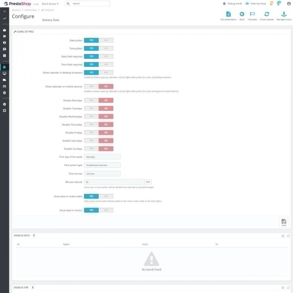 module - Пункты выдачи и Получение в магазине - Advanced Delivery Date Pro - 2