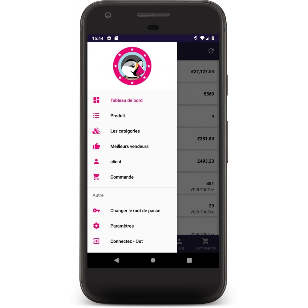 module - Mobile Endgeräte - Admin Mobile App - 1