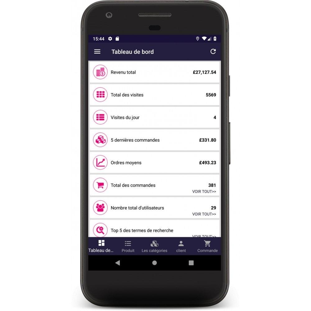 module - Mobile Endgeräte - Admin Mobile App - 2