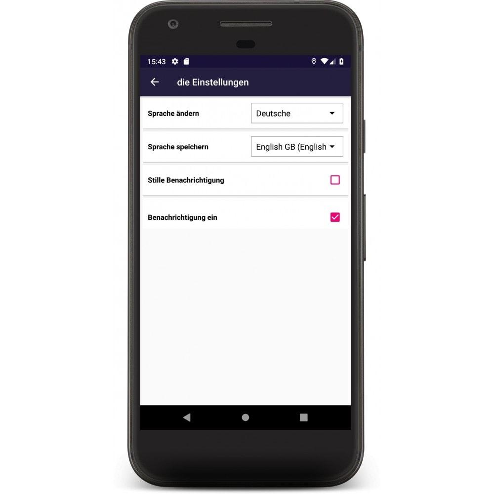 module - Mobile Endgeräte - Admin Mobile App - 5