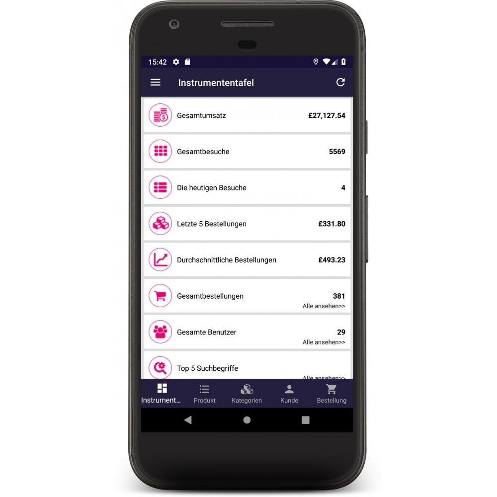 module - Dispositivos móviles - Admin Mobile App - 2