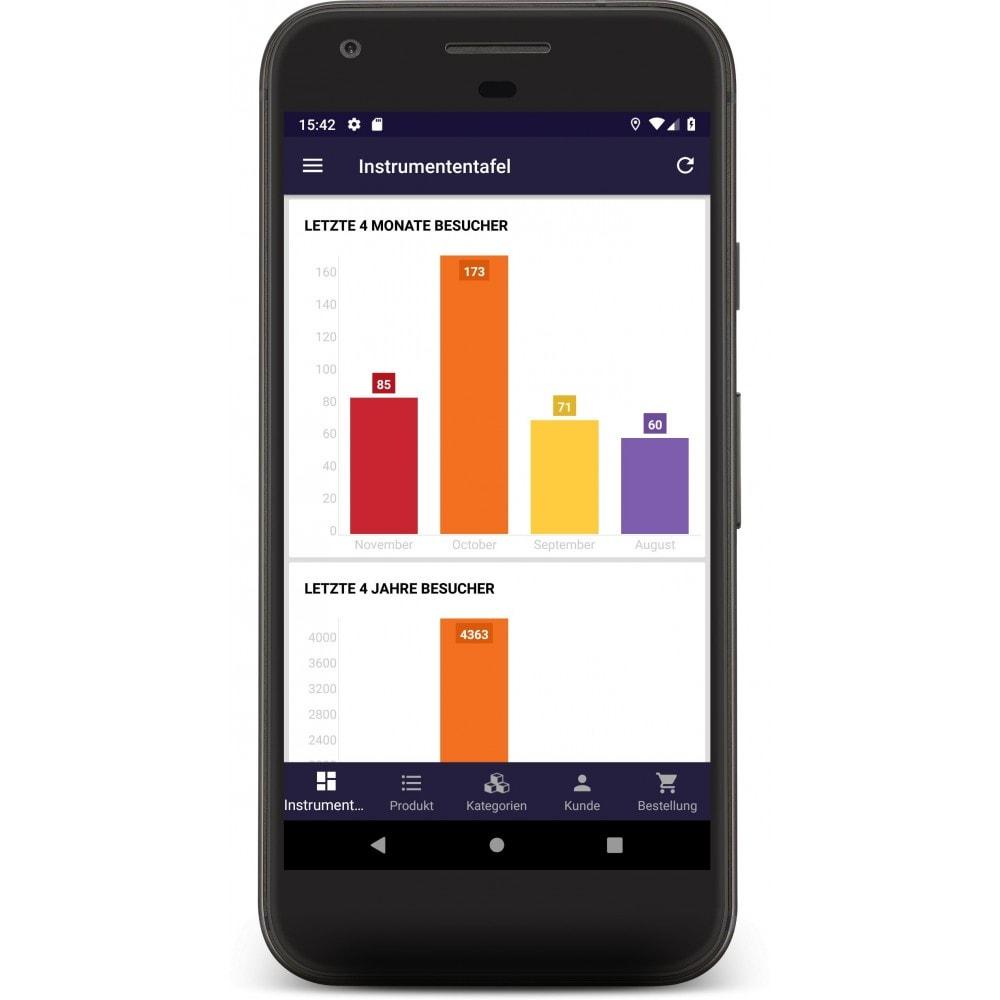module - Dispositivos móviles - Admin Mobile App - 3