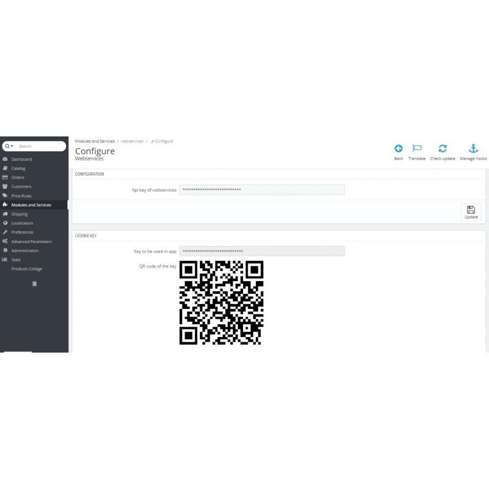 module - Dispositivos móviles - Admin Mobile App - 10