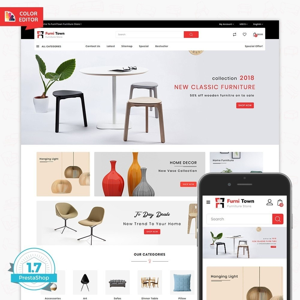 theme - Huis & Buitenleven - FurniTown - The Furniture Store - 1
