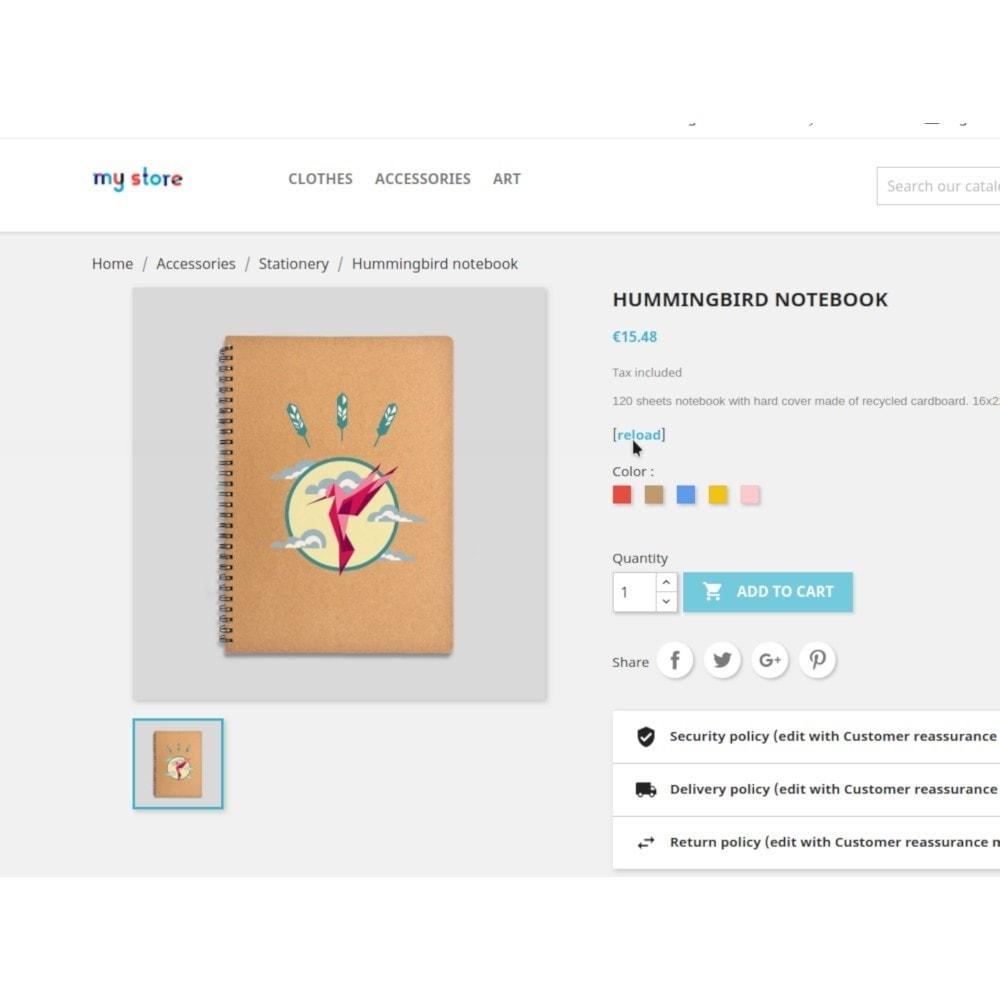 module - Combinaciones y Personalización de productos - Filterattribute - Declination and Attribute in Stock - 8