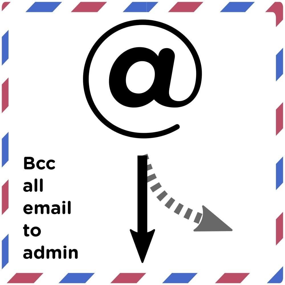 module - E-mails & Notícias - Bcc All Email to Admin - 1