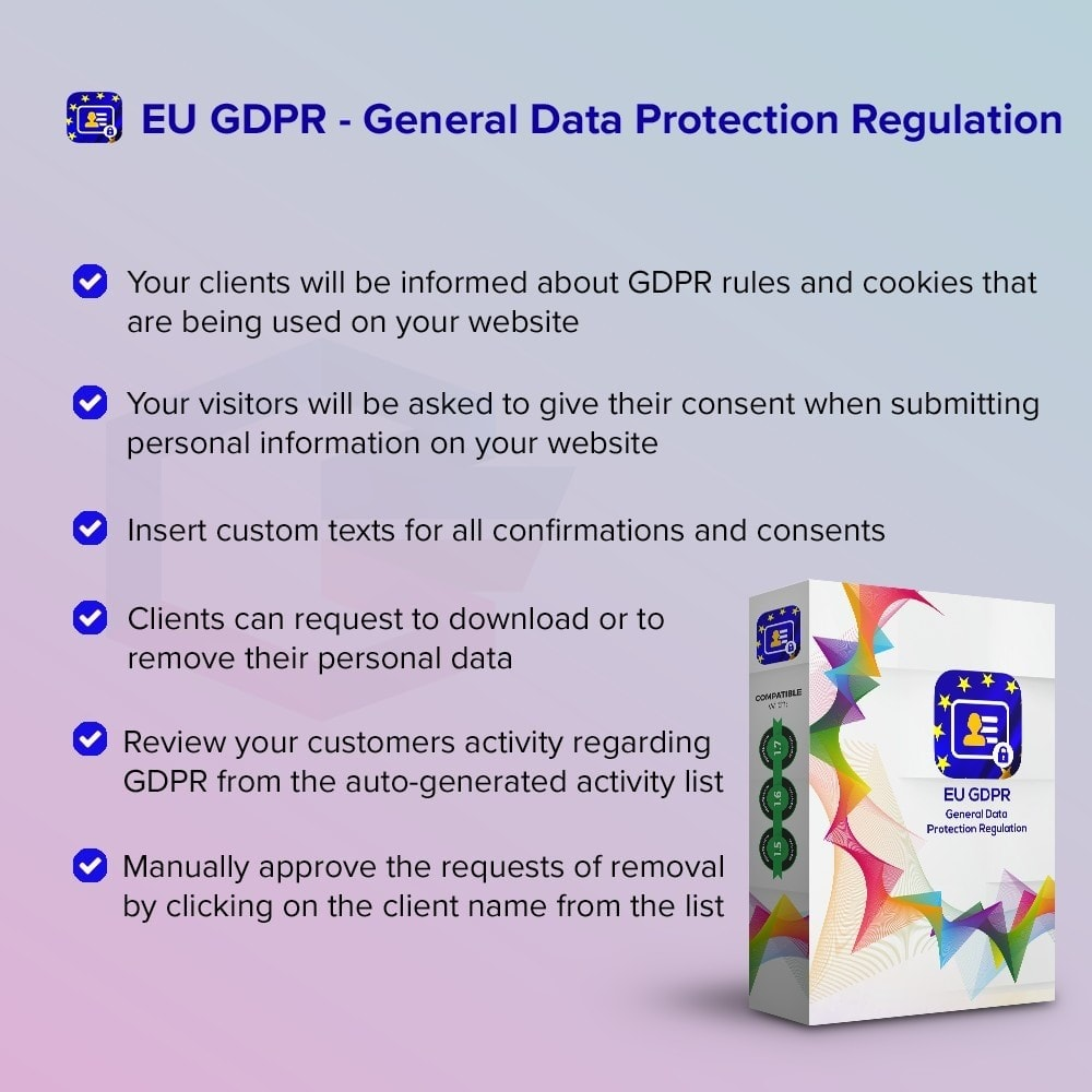 module - Wzmianki prawne - EU GDPR - General Data Protection Regulation - 1