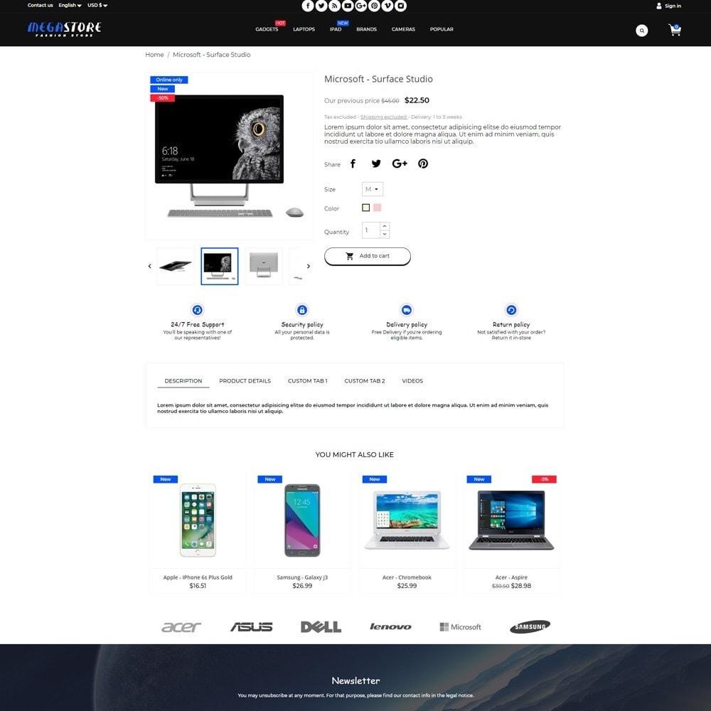 theme - Electrónica e High Tech - MegaStore - High-tech Shop - 5