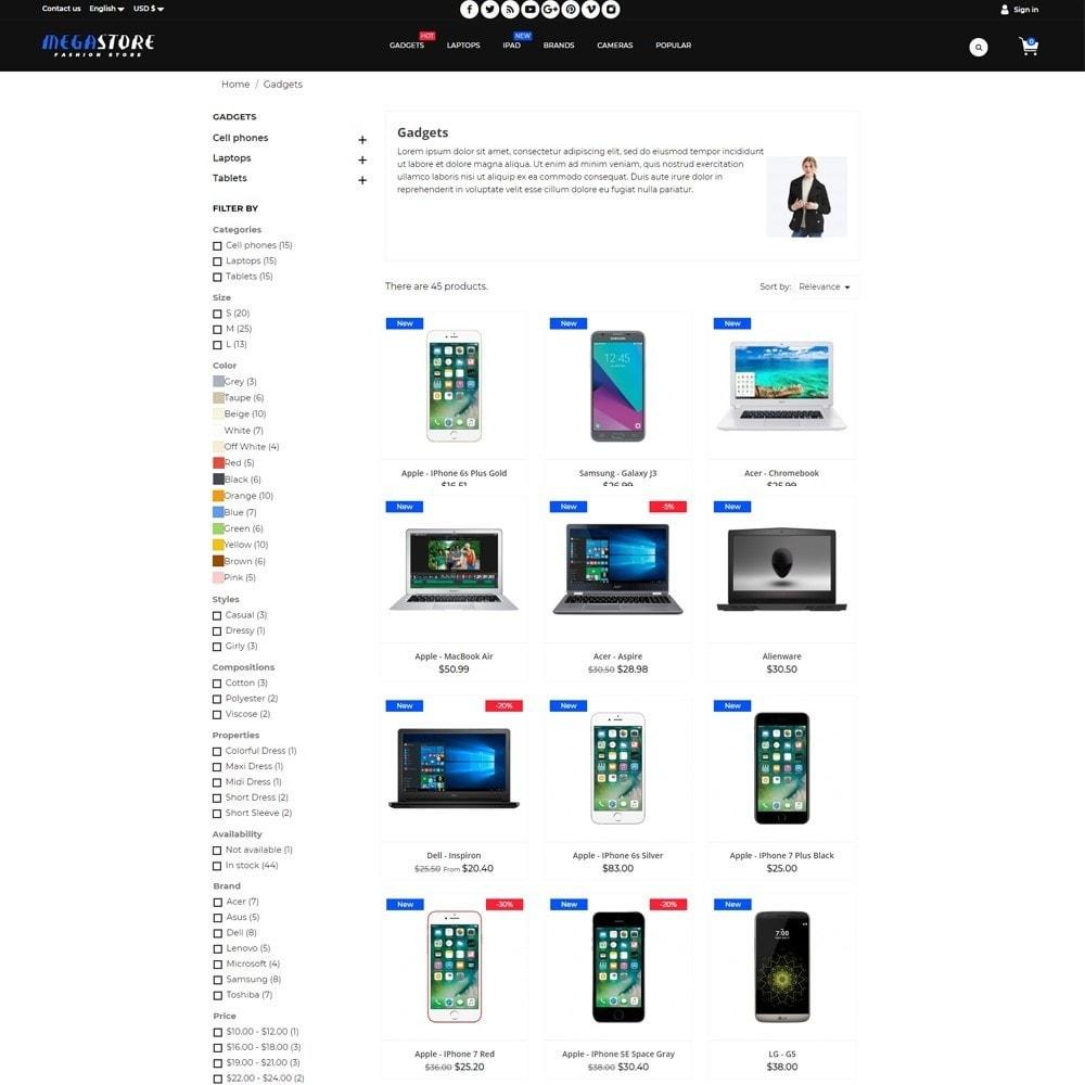 theme - Electrónica e High Tech - MegaStore - High-tech Shop - 6