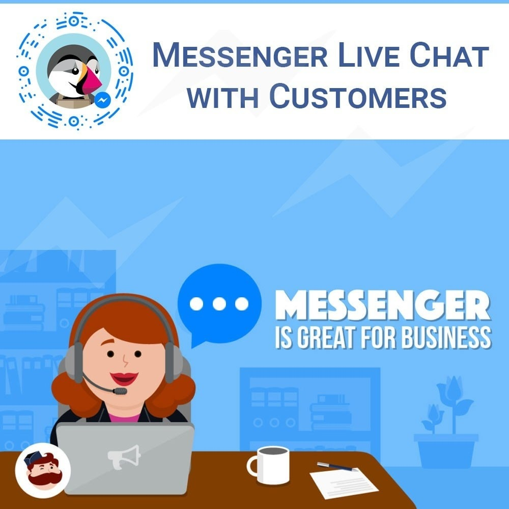 module - Supporto & Chat online - Facebook Messenger Chat - 1