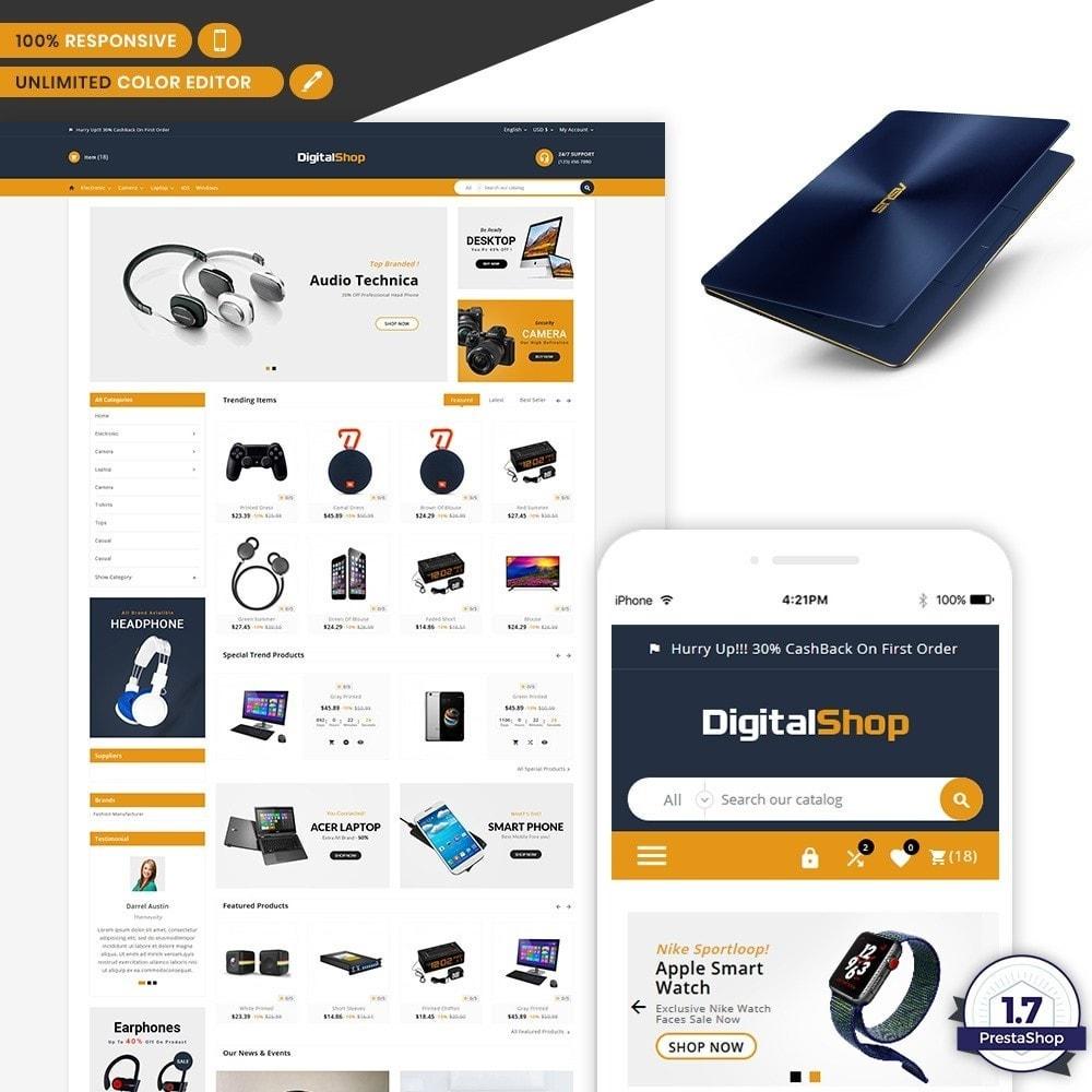 theme - Elektronik & High Tech - Digital Shop - Electronic Mega Mall - 1