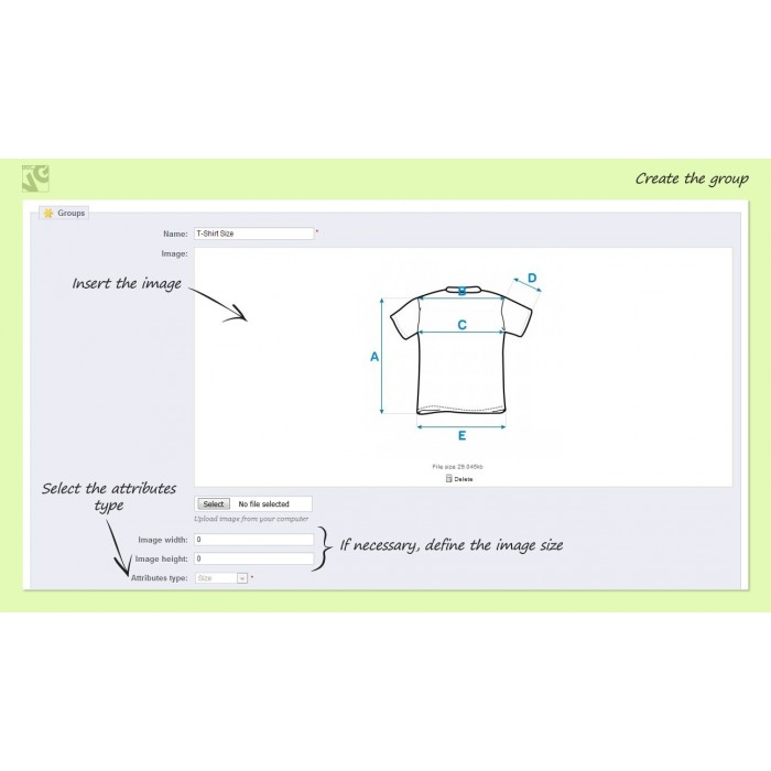 module - Omvang en eenheden - Size Assistant - 3
